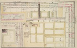 [Plan of part of the property of St Bartholomew's Hospital and Church]